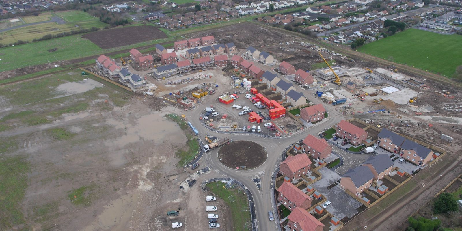 Ground works Mablethorpe - Golf Road mixed use development