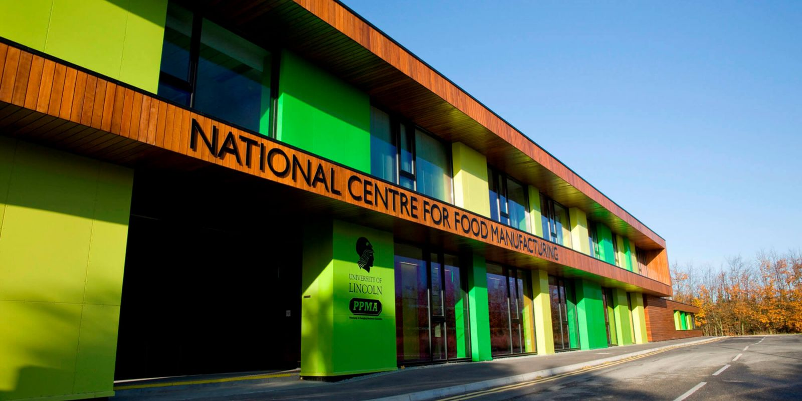 National Centre for Food Manufacturing building
