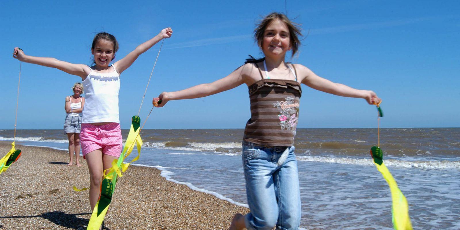 Lincolnshire beach