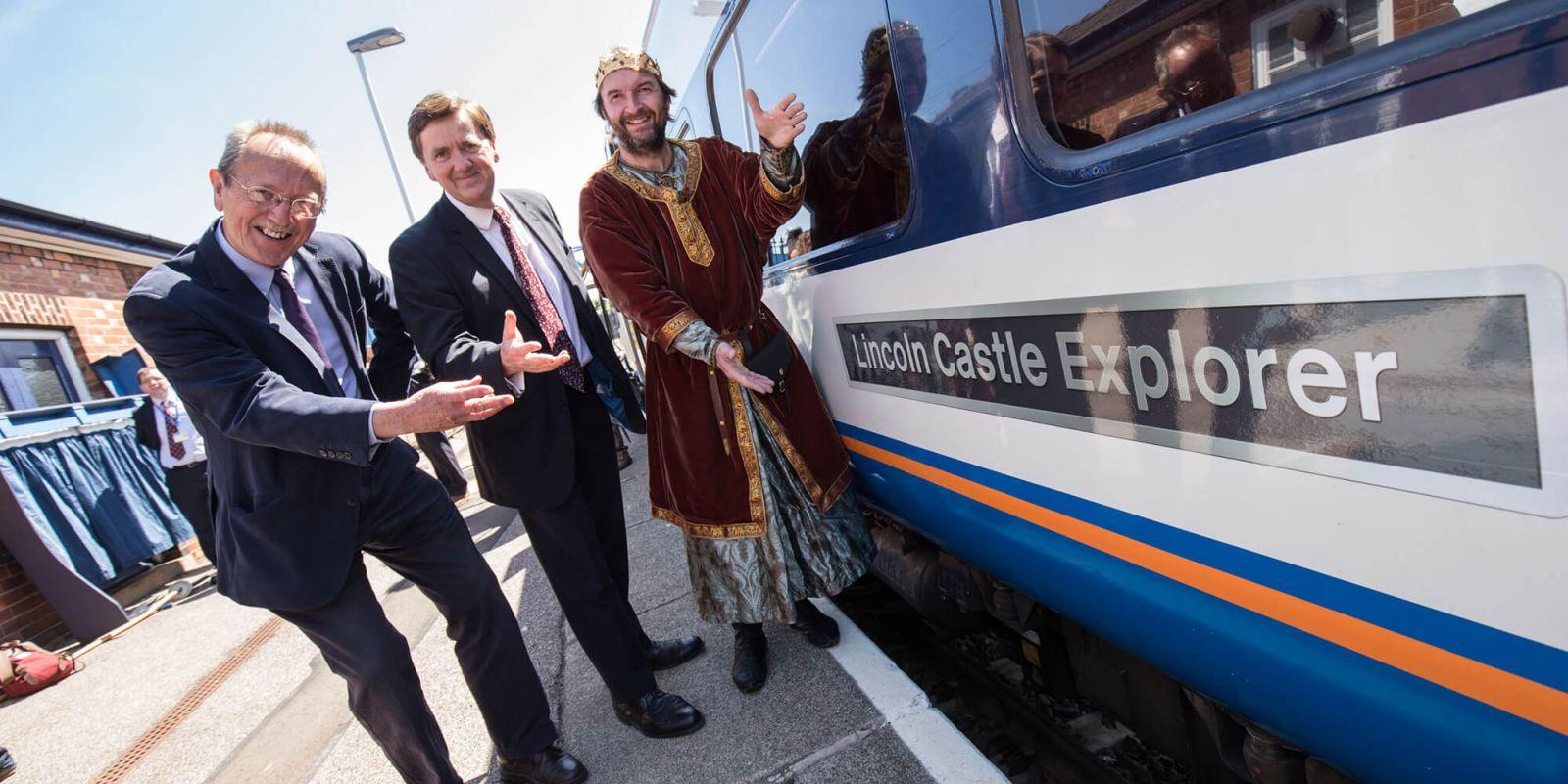 Castle line train