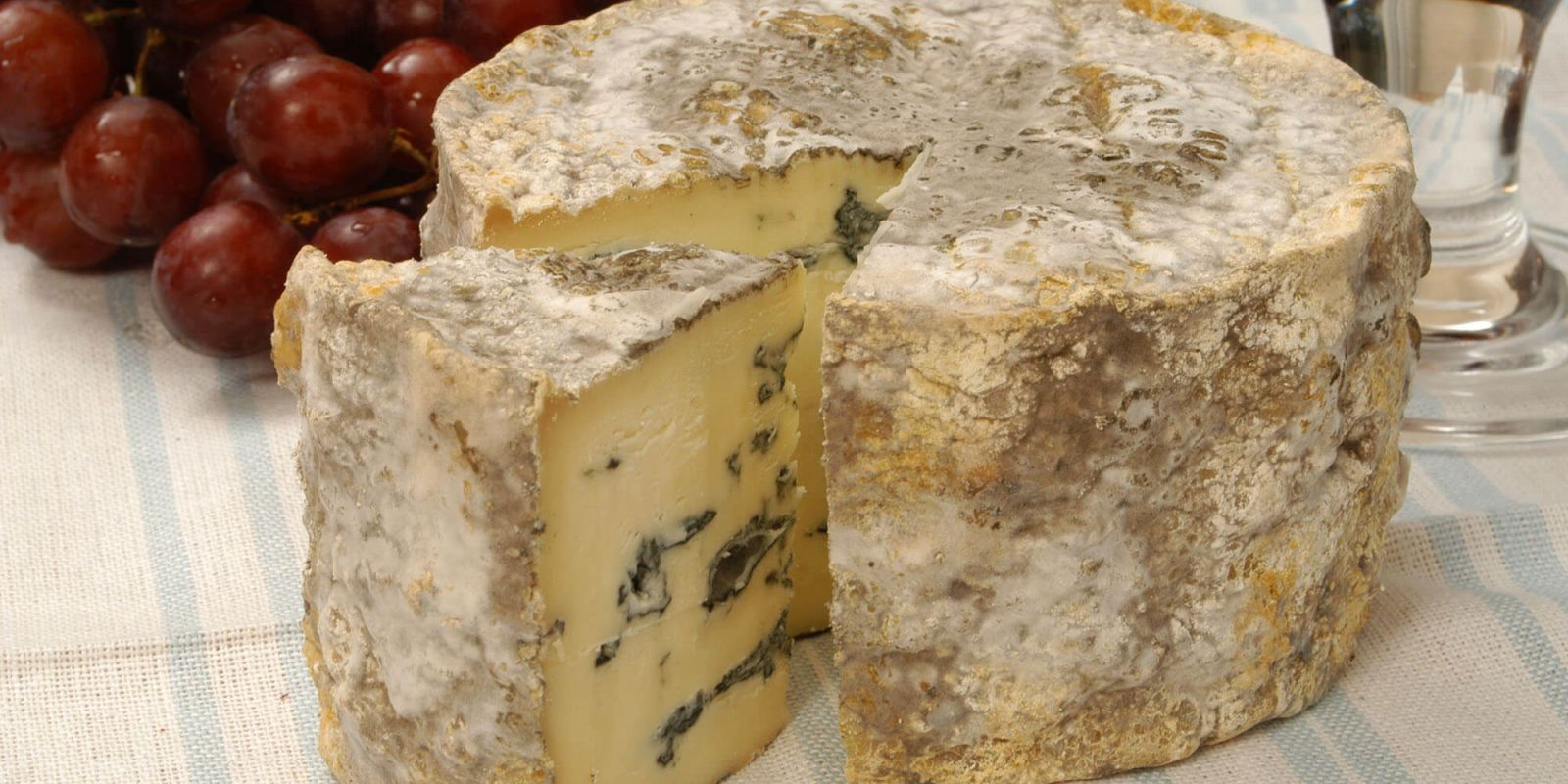Lincolnshire blue cheese