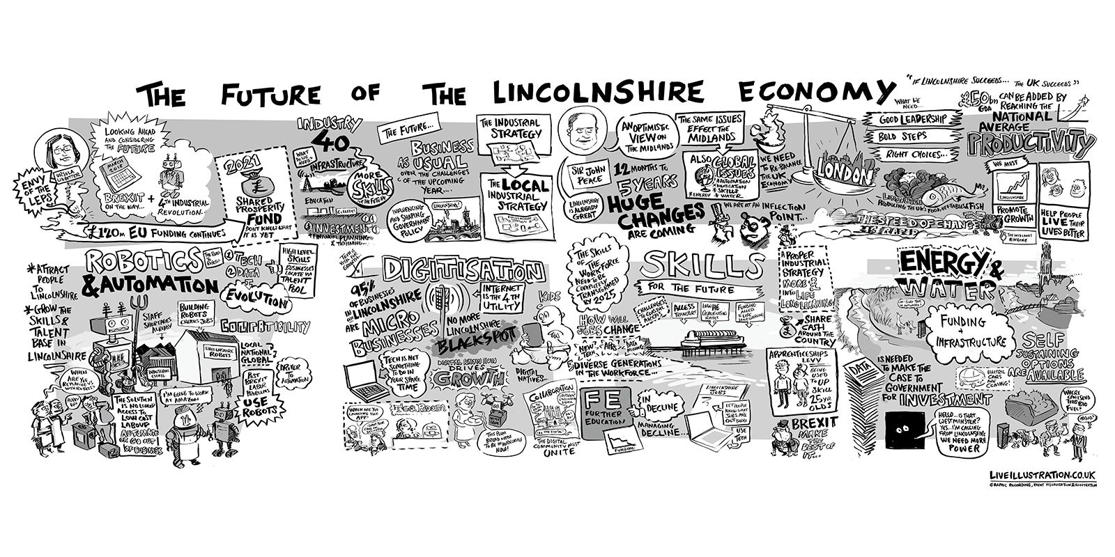 LEP Conference cartoon