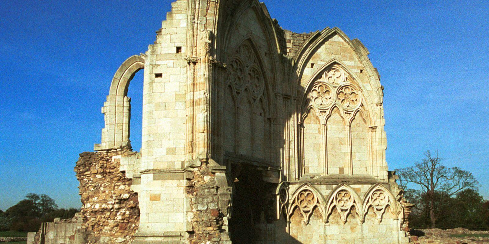 Priory ruins Lincolnshire